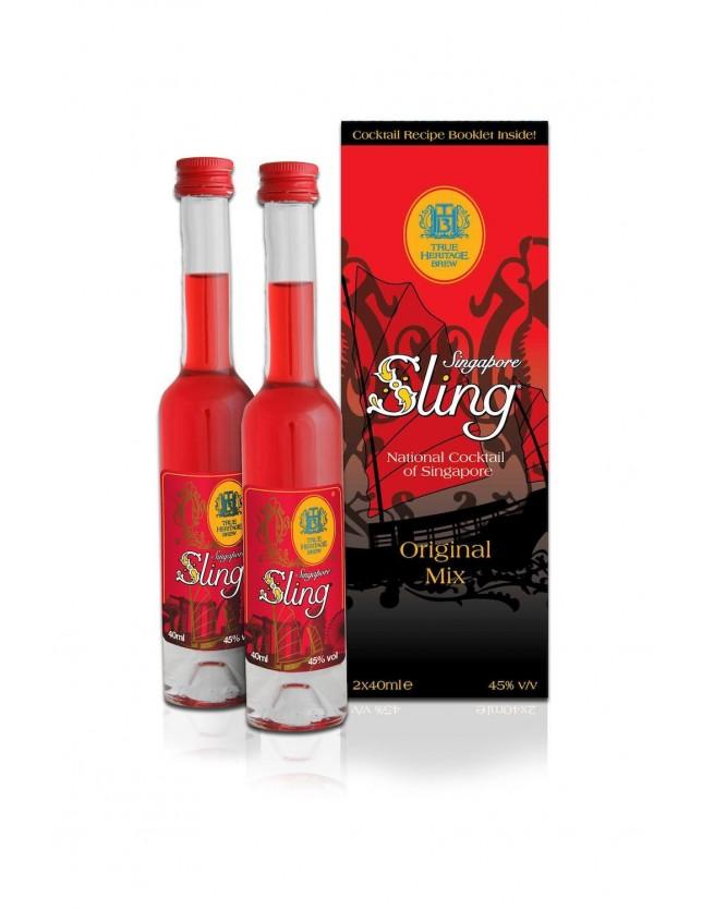 THB Singapore Sling® Original Mix - Miniature Pack 2 x 40ml
