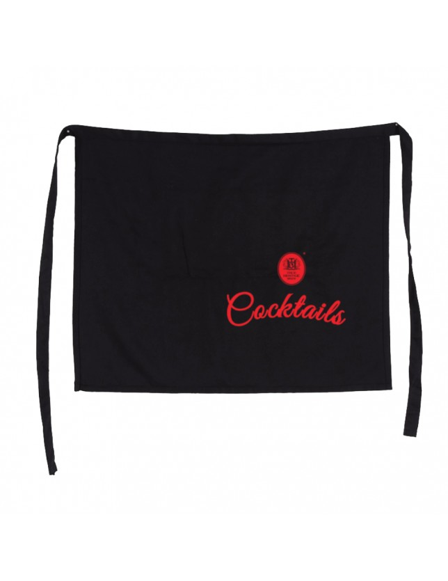 Half apron with logo